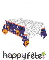 Déco de table Happy Halloween pour enfant, image 5