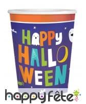 Déco de table Happy Halloween pour enfant, image 1