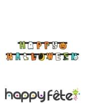 Déco de table Happy Halloween pour enfant, image 4