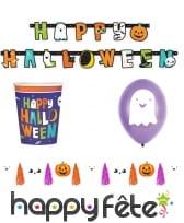 Déco de table Happy Halloween pour enfant