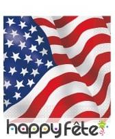 Déco de table imprimée drapeau USA, image 1