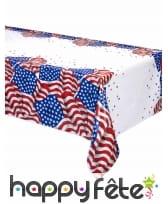 Déco de table imprimée drapeau USA, image 2