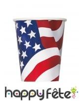 Déco de table imprimée drapeau USA, image 5