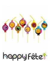 Déco de table Smiley World pour anniversaire, image 6