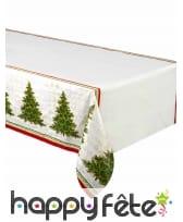 Décoration de table Arbre de Noël rouge et verte, image 3