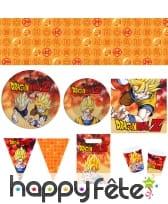 Décoration de table Dragon Ball Z