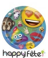 Décoration de table Emoji party, image 2