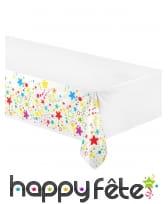Décoration de table étoiles multicolores, image 3