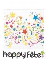 Décoration de table étoiles multicolores, image 5