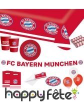 Décoration de table FC Bayern Munich