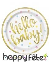 Décoration de table Hello Baby, image 1