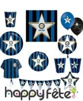 Décoration de table Inter de Milan