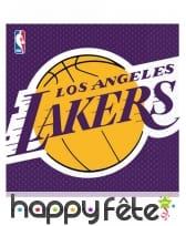 Décoration de table Lakers, image 3