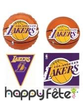 Décoration de table Lakers