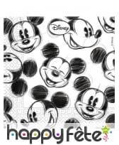 Décoration de table Mickey Mouse noir et blanc, image 2