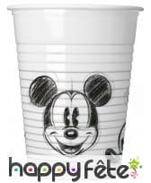 Décoration de table Mickey Mouse noir et blanc, image 3