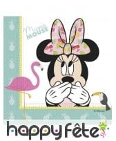 Décoration de table Minnie Mouse tropical, image 2