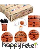 Décoration de table NBA Spalding