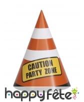 Décoration de table Party Zone chantier, image 5