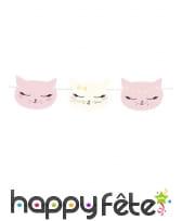 Décoration de table petit chat rose, image 8