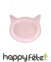 Décoration de table petit chat rose, image 7