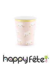 Décoration de table petit chat rose, image 1