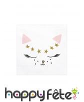 Décoration de table petit chat rose, image 6