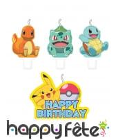 Décoration de table Pokémon, image 6