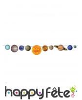 Décoration de table système solaire, image 1