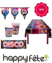 Décorations de table disco