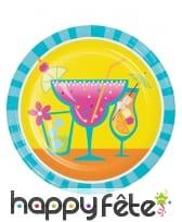 Décorations de table motifs Cocktail fruités, image 5
