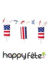 Déco drapeau USA pour table, image 3