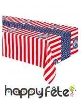 Déco drapeau USA pour table, image 7