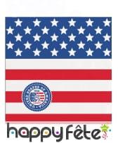 Déco drapeau USA pour table, image 8