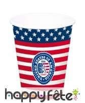 Déco drapeau USA pour table, image 9