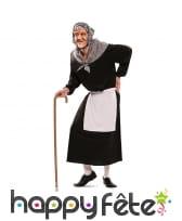 Déguisement de vieille dame pour femme