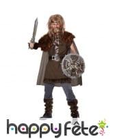Déguisement de viking marron