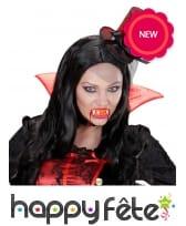 Dentier de vampire lumineux pour adulte, image 3