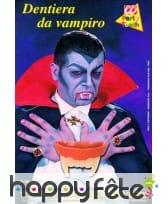 Dents de vampire phosphorescentes