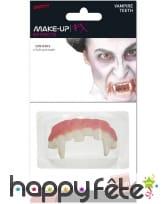 Dents de vampire pointues