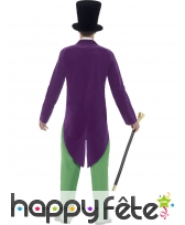 Déguisement de Willy Wonka pour adulte, image 1