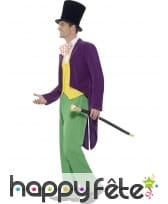 Déguisement de Willy Wonka pour adulte, image 2