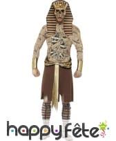 Déguisement de zombie pharaon
