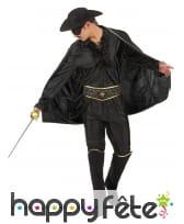 Déguisement de Zorro pour homme adulte, image 1