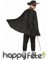 Déguisement de Zorro pour homme adulte, image 3
