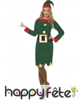 Déguisement elfe aide femme sexy