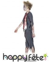 Déguisement enfant étudiant zombie, image 2