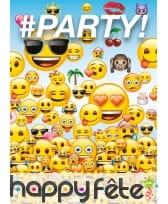 Décoration Emoji pour table d'anniversaire, image 12