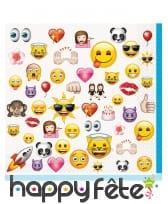 Décoration Emoji pour table d'anniversaire, image 16