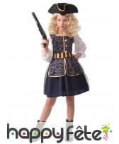 Déguisement enfant pirate fille